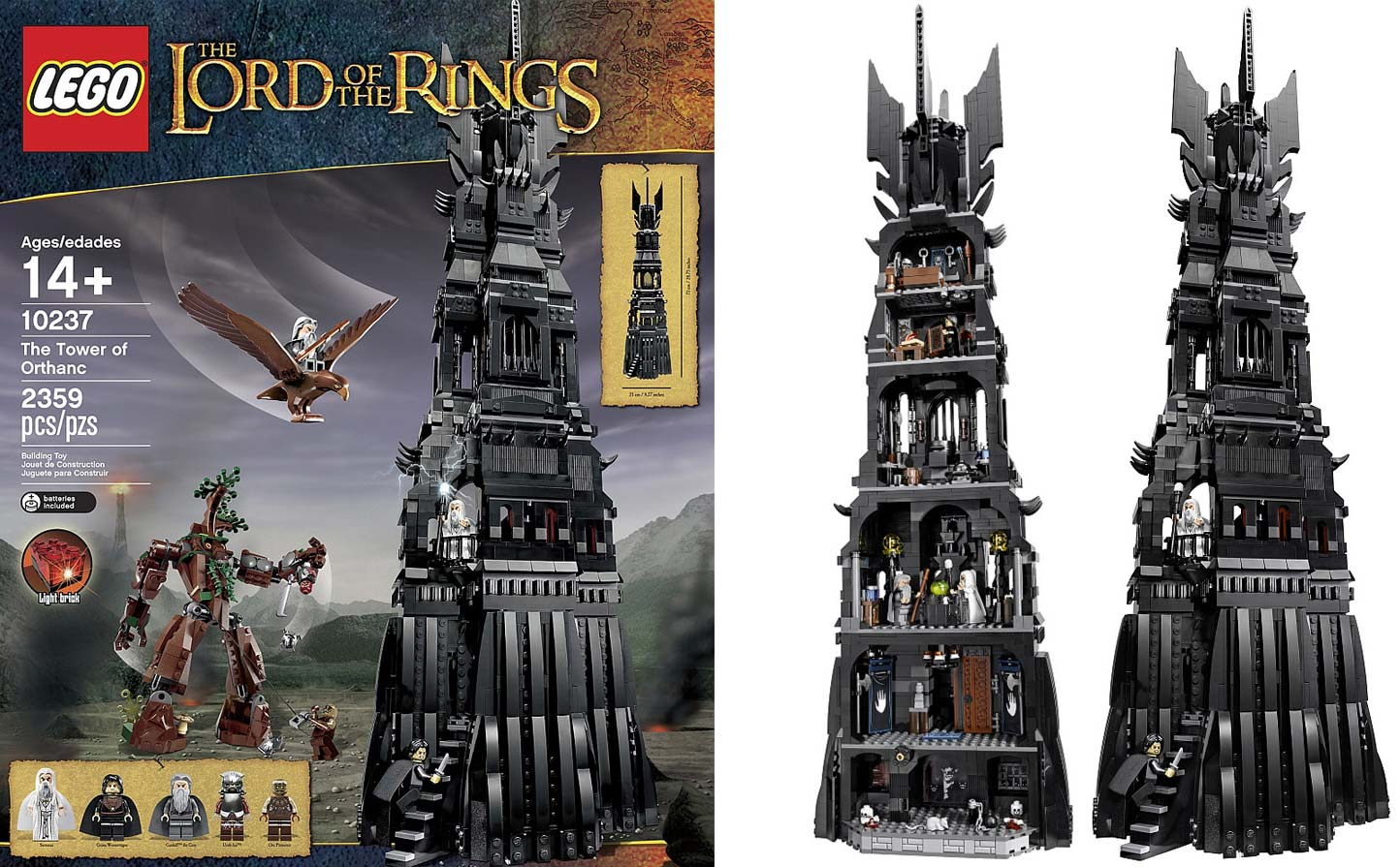 Citaten Uit Lord Of The Rings : Lego the tower of orthanc speelgoed ingelberts